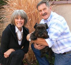 Sheila, Dave & Doogie Mills