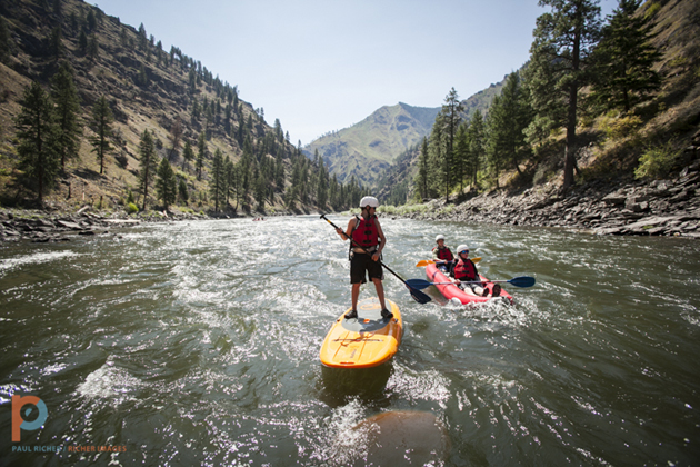 Stand Up Paddle on the Salmon River